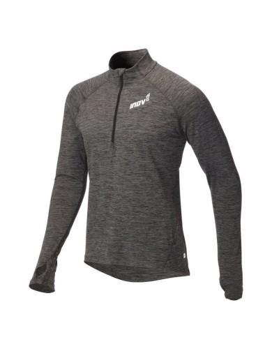 מוצרי אינוב 8 לגברים Inov 8 Long sleeve half zipped mid layer - אפור