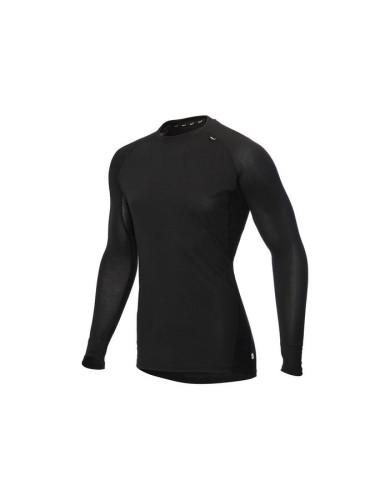 מוצרי אינוב 8 לגברים Inov 8 Long sleeve merino base layer - שחור