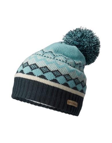 מוצרי קולומביה לנשים Columbia Winter Blur Beanie - תכלת
