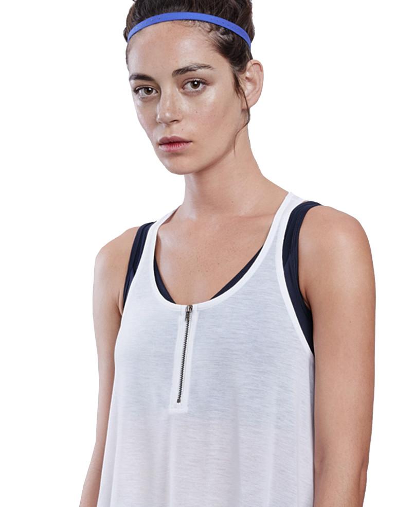 מוצרי לונקס לנשים Lynx Bestie White top - לבן