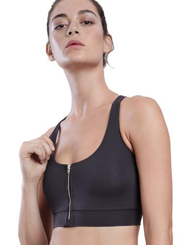 מוצרי לונקס לנשים Lynx Kiara Gray Sports Bra - אפור כהה