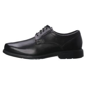 מוצרי רוקפורט לגברים Rockport Charles Road Plain Toe - שחור