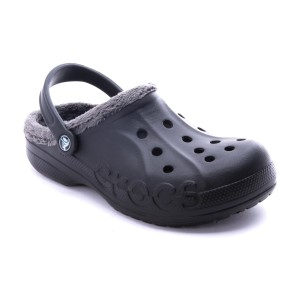 מוצרי Crocs לנשים Crocs Baya Fleece Clog - שחור