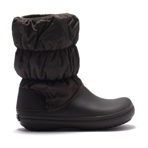 מוצרי Crocs לנשים Crocs Winter Puff Boot - חום