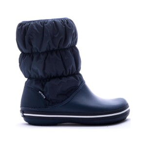 מוצרי Crocs לנשים Crocs Winter Puff Boot - כחול כהה