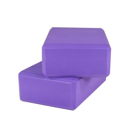 מוצרי YOGASTORE לנשים YOGASTORE Yoga Blocks - סגול