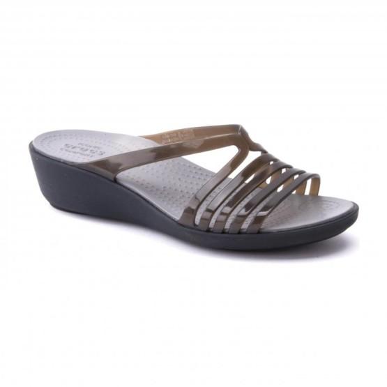 מוצרי Crocs לנשים Crocs Isabella Mini Wedge - חום
