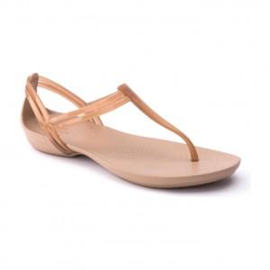 מוצרי Crocs לנשים Crocs Isabella Tstrap - זהב