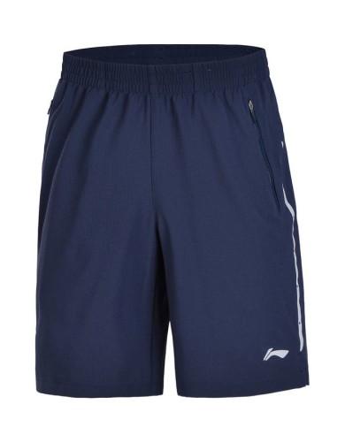 מוצרי לי נינג לגברים Li-Ning Woven Sweat Pants - כחול כהה