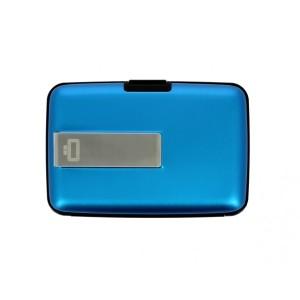 מוצרי אוגון לגברים OGON Clip Wallet - כחול