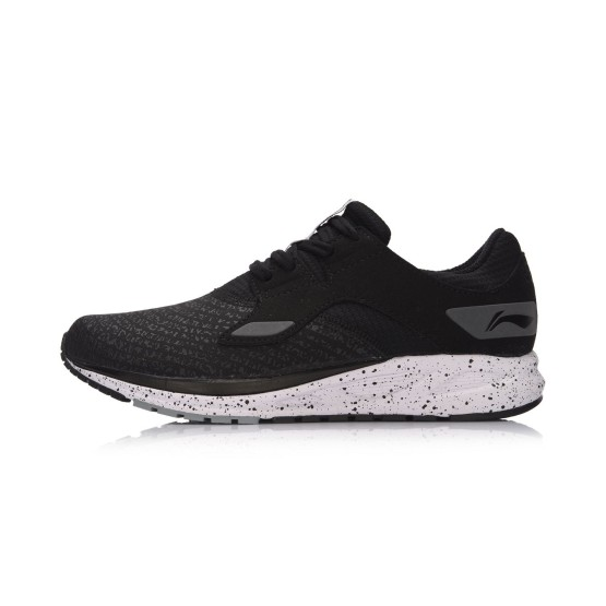 מוצרי לי נינג לנשים Li-Ning Lightweight Running - שחור/אפור