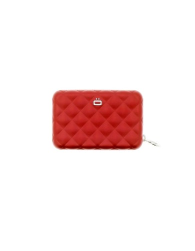 מוצרי אוגון לנשים OGON Quilted Zipper - אדום