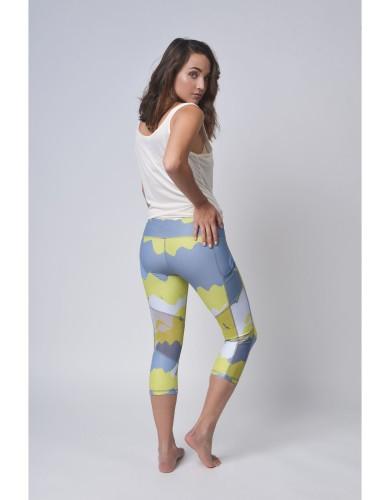 מוצרי לופופ לנשים LUPOP Yellow Camouflage - צהוב