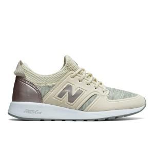 מוצרי ניו באלאנס לנשים New Balance WRL420 - לבן/ורוד