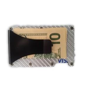 מוצרי סולו לגברים Solo solo Minimalist Carbon Fiber - כסף