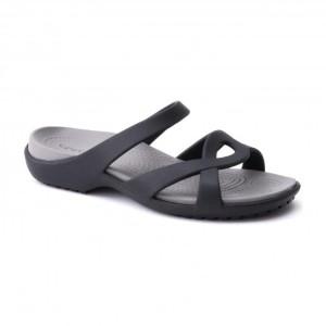 מוצרי Crocs לנשים Crocs Meleen Twist Sandal - שחור
