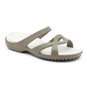 מוצרי Crocs לנשים Crocs Meleen Twist Sandal - חאקי