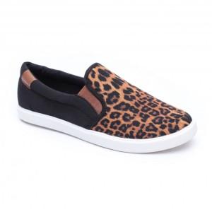מוצרי Crocs לנשים Crocs CitiLane Slip on Sneakers - מנומר