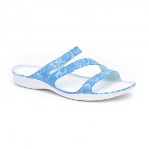 מוצרי Crocs לנשים Crocs Swiftwater Sandal - כחול/לבן