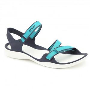 מוצרי Crocs לנשים Crocs Swiftwater Webbing Sandal - טורקיז