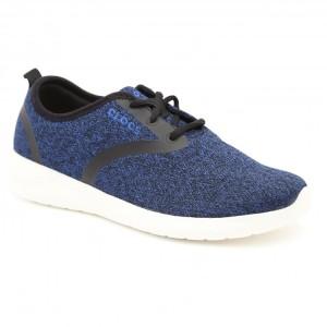 מוצרי Crocs לנשים Crocs LiteRide Lace - כחול/לבן