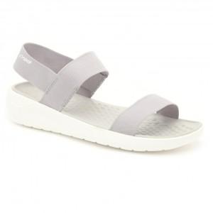 מוצרי Crocs לנשים Crocs LiteRide Sandal - אפור בהיר