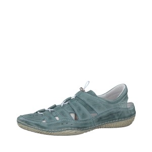 מוצרי Jana לנשים Jana Lace Up Shoe - כחול