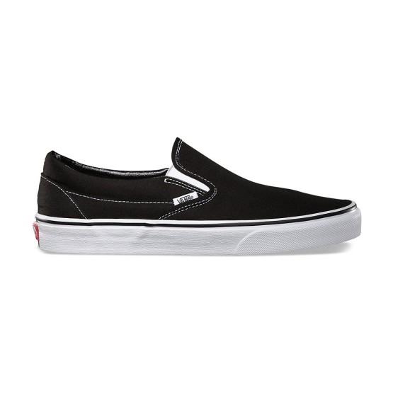 מוצרי ואנס לנשים Vans Slip On - שחור/לבן